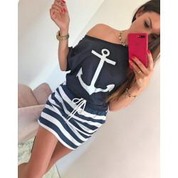 vestido marinero corto