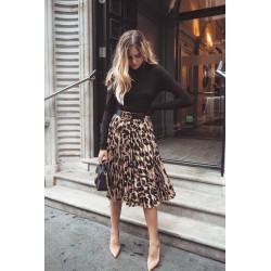 Falda animal print Leopardo